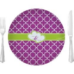 Clover Glass Lunch / Dinner Plates 10