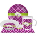 Clover Dinner Set - 4 Pc (Personalized)