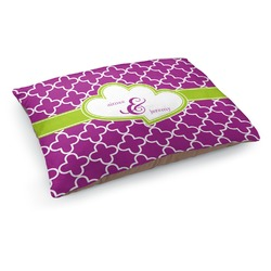 Clover Dog Pillow Bed (Personalized)