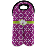Clover Wine Tote Bag (2 Bottles) (Personalized)