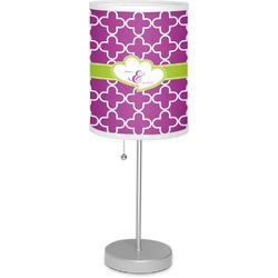 """Clover 7"""" Drum Lamp with Shade (Personalized)"""
