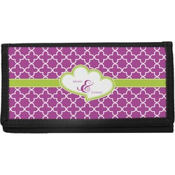 Clover Canvas Checkbook Cover (Personalized)