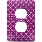 Clover Electric Outlet Plate (Personalized)