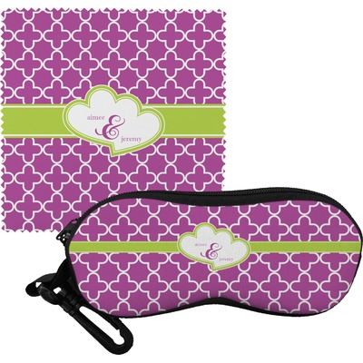 Clover Eyeglass Case & Cloth (Personalized)