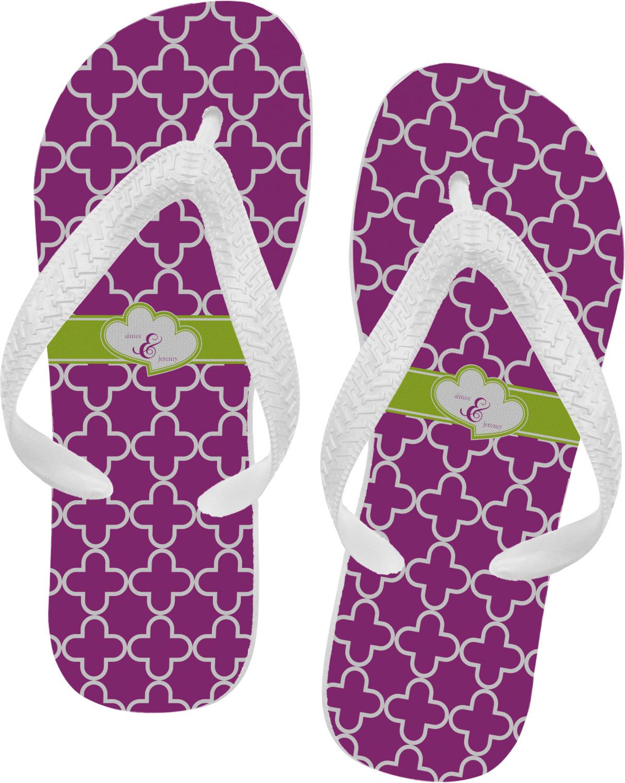 007f148df446 Clover Flip Flops (Personalized) - YouCustomizeIt