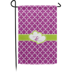 Clover Garden Flag - Single or Double Sided (Personalized)
