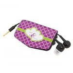 Clover Genuine Leather Cord Wrap (Personalized)