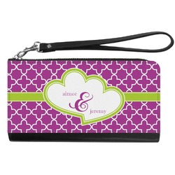 Clover Genuine Leather Smartphone Wrist Wallet (Personalized)