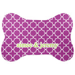 Clover Bone Shaped Dog Food Mat (Personalized)