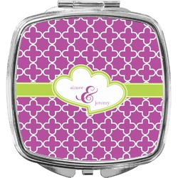 Clover Compact Makeup Mirror (Personalized)