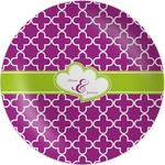Clover Melamine Plate (Personalized)