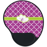 Clover Mouse Pad with Wrist Support