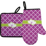 Clover Oven Mitt & Pot Holder (Personalized)