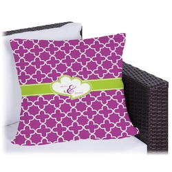 Clover Outdoor Pillow (Personalized)