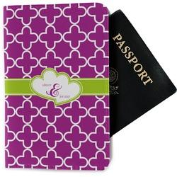 Clover Passport Holder - Fabric (Personalized)