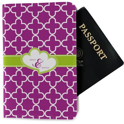 Clover Passport Holder - Fabric (Personalized)