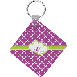 Clover Diamond Key Chain (Personalized)