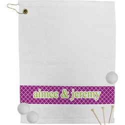 Clover Golf Towel (Personalized)