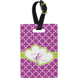 Clover Rectangular Luggage Tag (Personalized)