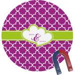 Clover Round Magnet (Personalized)