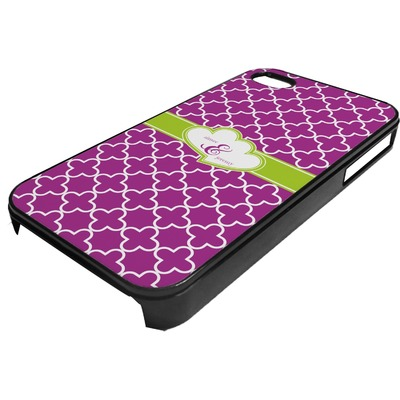 Clover Plastic 4/4S iPhone Case (Personalized)