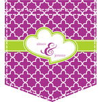 Clover Iron On Faux Pocket (Personalized)
