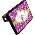 """Clover Rectangular Trailer Hitch Cover - 2"""" (Personalized)"""