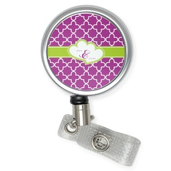 Clover Retractable Badge Reel (Personalized)