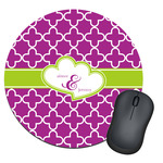 Clover Round Mouse Pad (Personalized)