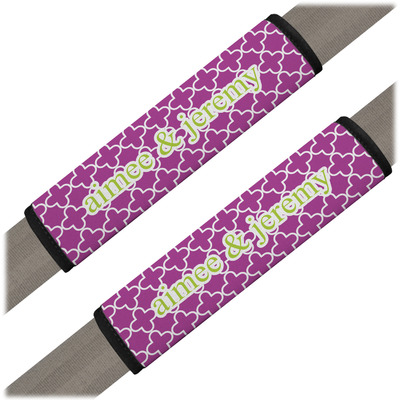 Clover Seat Belt Covers (Set of 2) (Personalized)