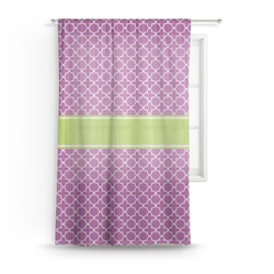 Clover Sheer Curtains (Personalized)