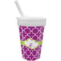 Clover Sippy Cup with Straw (Personalized)