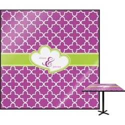 Clover Square Table Top (Personalized)