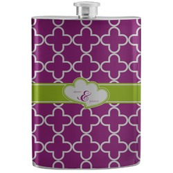 Clover Stainless Steel Flask (Personalized)