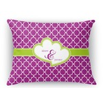 Clover Rectangular Throw Pillow Case (Personalized)