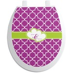 Clover Toilet Seat Decal (Personalized)