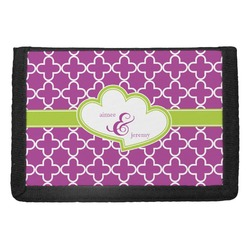 Clover Trifold Wallet (Personalized)