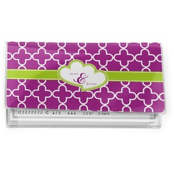 Clover Vinyl Check Book Cover (Personalized)
