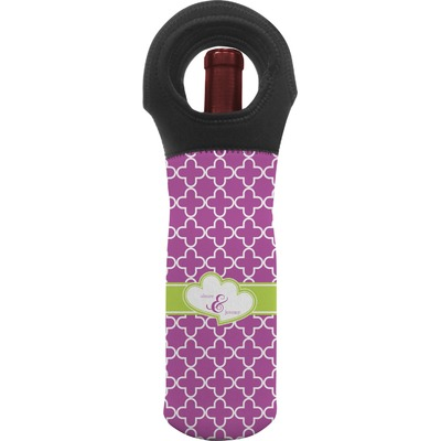 Clover Wine Tote Bag (Personalized)
