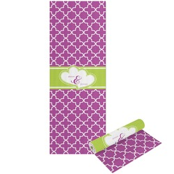 Clover Yoga Mat - Printable Front and Back (Personalized)