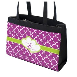 Clover Zippered Everyday Tote (Personalized)