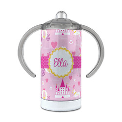 Princess Carriage 12 oz Stainless Steel Sippy Cup (Personalized)
