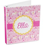 Princess Carriage 3-Ring Binder (Personalized)