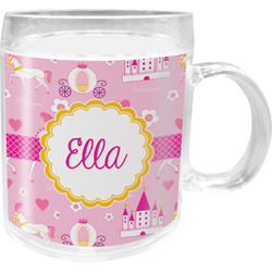 Princess Carriage Acrylic Kids Mug (Personalized)