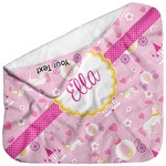 Princess Carriage Baby Hooded Towel (Personalized)