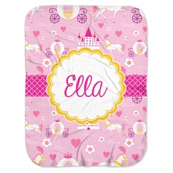 Princess Carriage Baby Swaddling Blanket (Personalized)