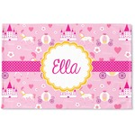 Princess Carriage Woven Mat (Personalized)