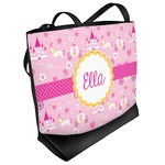 Princess Carriage Beach Tote Bag (Personalized)