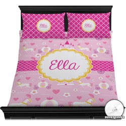 Princess Carriage Duvet Cover Set (Personalized)
