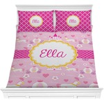 Princess Carriage Comforter Set (Personalized)